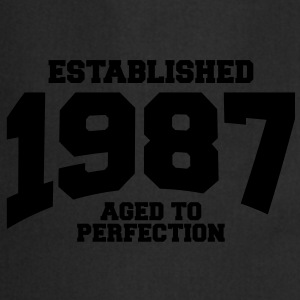 aged to perfection established 1987 (fr) Tee shirts - Tablier de cuisine