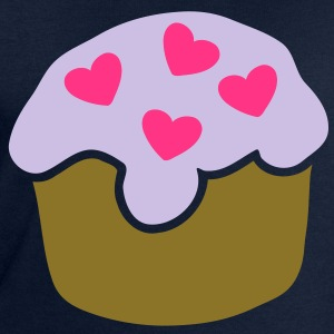 Cupcake Hearts Tee shirts - Sweat-shirt Homme Stanley & Stella