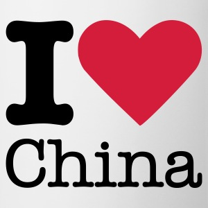 I Love China Camisetas - Taza