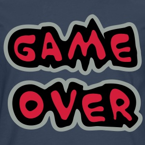 Game Over Tee shirts - T-shirt manches longues Premium Homme