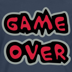 Game Over T-Shirts - Männer Premium Langarmshirt
