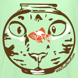 Hungry cat stare T-Shirts - Women's Tank Top by Bella