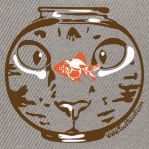 Hungry cat stare T-Shirts - Snapback Cap