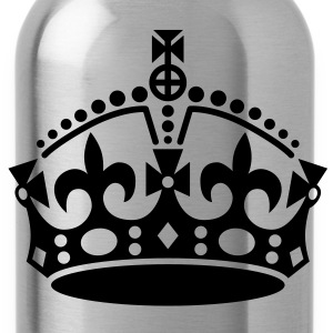 keep calm | crown jewels T-Shirts - Trinkflasche