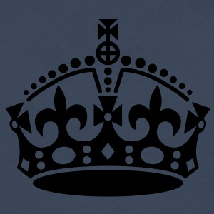 keep calm | crown jewels T-Shirts - T-shirt manches longues Premium Homme