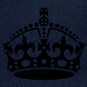 keep calm | crown jewels T-Shirts - Czapka typu snapback