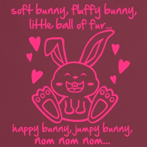 soft bunny, fluffy bunny, little ball of fur... T-shirts - Forklæde