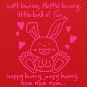 soft bunny, fluffy bunny, little ball of fur... T-Shirts - Tote Bag