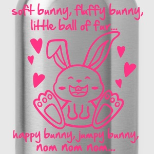 soft bunny, fluffy bunny, little ball of fur... T-Shirts - Water Bottle