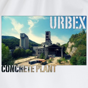 Concrete Wide T-Shirts - Turnbeutel