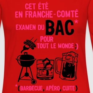 bac franche comte barbecue apero cuite biere Tee shirts - T-shirt manches longues Premium Femme