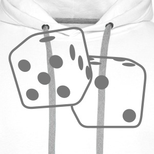 Roll the Dice T-Shirts - Men's Premium Hoodie