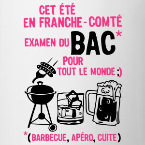bac franche comte barbecue apero cuite biere Tee shirts - Tasse