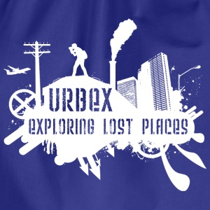 Exploring Lost Places White T-Shirts - Turnbeutel