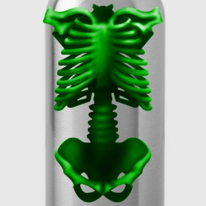 skeleton poisonous green T-Shirts - Water Bottle