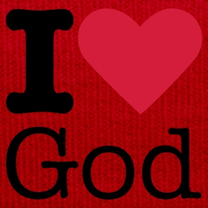 I Love God Camisetas - Gorro de invierno