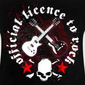 licence_to_rock_a T-shirts - Baby-T-shirt