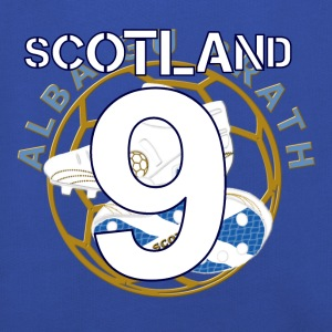 Scotland soccer number 9 T-Shirts - Kids' Premium Hoodie