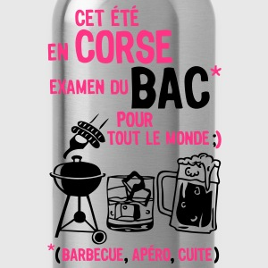 bac corse barbecue apero cuite biere Tee shirts - Gourde