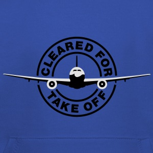 Cleared for take off T-Shirts - Bluza dziecięca z kapturem Premium