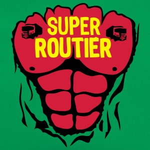 routier super corps muscle bodybuilding Tee shirts - Sac Retro
