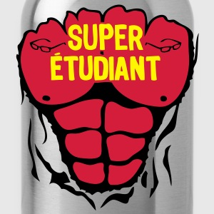 etudiant super corps muscle bodybuilding Tee shirts - Gourde