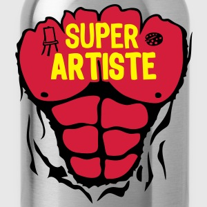 artiste super corps muscle bodybuilding Tee shirts - Gourde