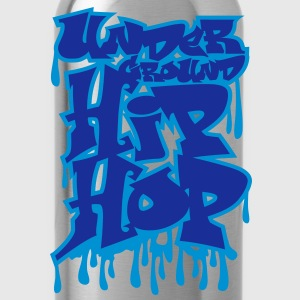 Underground hip hop graffiti - Drinkfles