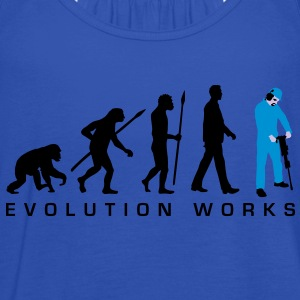 evolution_jackhammer_042012_a_3c T-Shirts - Frauen Tank Top von Bella