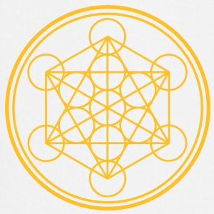 merkaba - flower of life T-shirts - Keukenschort
