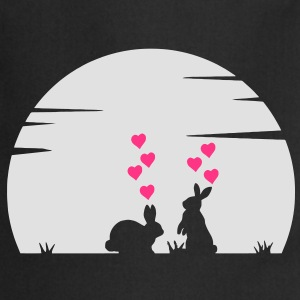 Bella Big Bunny Love and Moonshine T-shirt - Grembiule da cucina