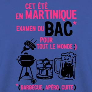 bac martinique barbecue apero cuite biere Tee shirts - Sweat-shirt Homme