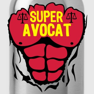 avocat super corps muscle bodybuilding Tee shirts - Gourde