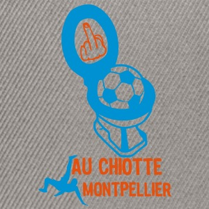 chiotte montpellier football non suppor Tee shirts - Casquette snapback