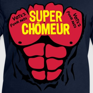 chomeur super corps muscle bodybuilding Tee shirts - Sweat-shirt Homme Stanley & Stella