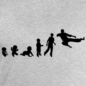 evolution taekwondo foetus human humain Tee shirts - Sweat-shirt Homme Stanley & Stella