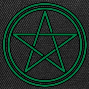 pagan celtic pentagram Tee shirts - Casquette snapback