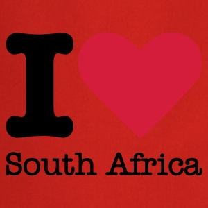 I Love South Africa T-shirt - Grembiule da cucina