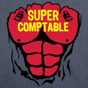 comptable super corps muscle bodybuildin Tee shirts - Sac bandoulière 100 % recyclé