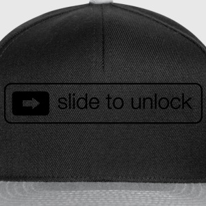 Slide to unlock T-shirts - Snapback cap