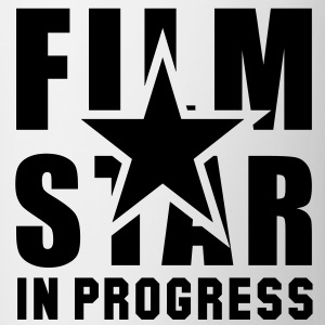 FILM STAR IN PROGRESS Girls T-Shirt BW - Mug