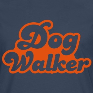 dog walker cute font pets helpful Shirts - Men's Premium Longsleeve Shirt
