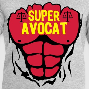 avocat super corps muscle bodybuilding Tee shirts - Sweat-shirt Homme Stanley & Stella