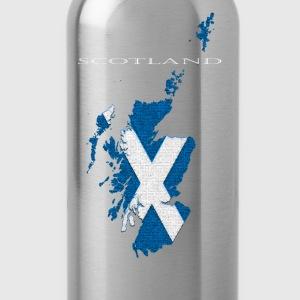 Scotland: Map - Water Bottle