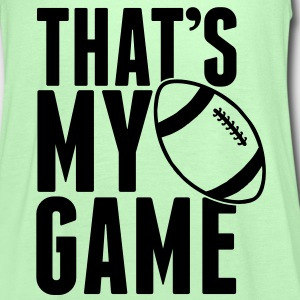 Rugby - That's my Game T-shirts - Vrouwen tank top van Bella