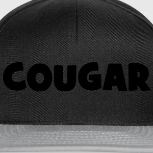 Cougar :) Tee shirts - Casquette snapback
