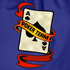 poker card ribbon team 2 Tee shirts - Sac de sport léger