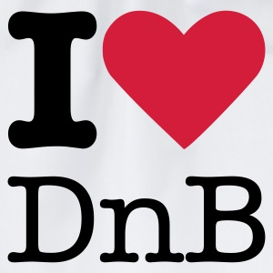 I Love DnB T-Shirts - Drawstring Bag