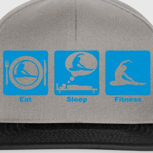 fitness 30 eat sleep play  Tee shirts - Casquette snapback