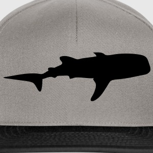 baleine whale silhouette ombre shadow2 Tee shirts - Casquette snapback